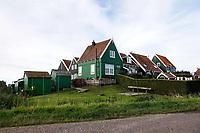 Nederland -  Marken - 2019.  Huizen op Marken. De Grotewerf.  Berlinda van Dam / Hollandse Hoogte