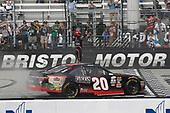 NASCAR Xfinity Series<br /> Fitzgerald Glider Kits 300<br /> Bristol Motor Speedway, Bristol, TN USA<br /> Saturday 22 April 2017<br /> Erik Jones, Reser's American Classic Toyota Camry<br /> World Copyright: Matthew T. Thacker<br /> LAT Images<br /> ref: Digital Image 17BMS1mt1381