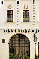 Poland, Tarnow, Restaurant, Rynek, Town Square