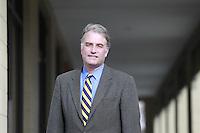 U.S. Congressman Robert Hurt talks about the Rural Horseshoe Initiative at his office in Charlottesville, VA. Photo/Andrew Shurtleff