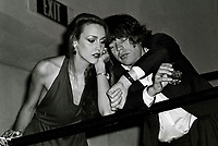 Jagger Hall6702.JPG<br /> New York, NY 1978 FILE PHOTO<br /> Mick Jagger & Jerry Hall<br /> Studio 54<br /> Digital photo by Adam Scull-PHOTOlink.net<br /> ONE TIME REPRODUCTION RIGHTS ONLY<br /> NO WEBSITE USE WITHOUT AGREEMENT<br /> 718-487-4334-OFFICE  718-374-3733-FAX
