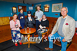 Frank Houlihan and his cast from their upcoming play Strong Coffee rehearsing in the Ballymac Bar. The play opens on Wednesday the 13th October in the Ballymac Bar. Front right: Frank Houlihan. Seated l to r: Kay Dowling, Elenor Sugrue, Gillian Wharton. Back standing and Rona Johnston and John Creagh.