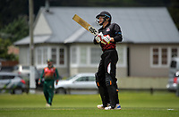 Action from the Ewen Chatfield Trophy Wellington premier men's division one cricket one-day match between Taita and Onslow at Fraser Park in Lower Hutt, New Zealand on Saturday, 19 December 2020. Photo: Dave Lintott / lintottphoto.co.nz