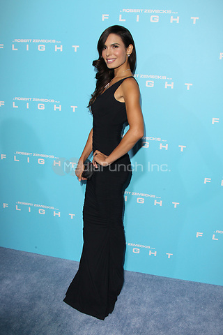 HOLLYWOOD, CA - OCTOBER 23: Nadine Velazquez at the Los Angeles premiere of 'Flight' at ArcLight Cinemas on October 23, 2012 in Hollywood, California. ©mpi21/MediaPunch Inc.