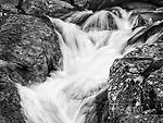 Waterfall in late winter, Rock Creek, Calaveras Co., Calif.