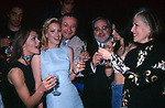 """VITTORIA BELVEDERE, ALICE EVANNS, LEO GULLOTTA,  ANGELO RIZZOLI E ROMINA MONDELLO<br /> PRESENTAZIONE SERIE TV """"LE RAGAZZE DI PIAZZA DI SPAGNA""""<br /> GILDA CLUB ROMA 1998"""
