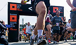 Participants run during the Bloomberg Square Mile Relay race across Pier 27 at the James R. Herman Cruise Terminal on 3 August 2017 in San Francisco, United States. Photo by Victor Fraile / Power Sport Images
