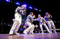 Rivertown Sound Quartet opening for Steve Davis tribute to Elvis Presley at The Pageant in Saint Louis on Jan 10, 2009.