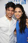 Telly Leung and Arielle Jacobs attends the United Airlines Presents: #StarsInTheAlley Produced By The Broadway League on June 1, 2018 in New York City.