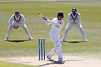 Yorkshire's Keaton Jennings bats during Kent CCC vs Lancashire CCC, LV Insurance County Championship Group 3 Cricket at The Spitfire Ground on 22nd April 2021