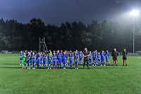 KRC Youth pictured before a female soccer game between  Racing Genk Ladies and Sporting du pays de Charleroi on the fourth matchday of the 2021-2022 season of the Belgian Scooore Womens Super League , friday 10 September 2021  in Genk , Belgium . PHOTO SPORTPIX   STIJN AUDOOREN