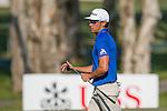 Rafael Cabrera Bello of Spain putts on the green during the 58th UBS Hong Kong Golf Open as part of the European Tour on 10 December 2016, at the Hong Kong Golf Club, Fanling, Hong Kong, China. Photo by Marcio Rodrigo Machado / Power Sport Images