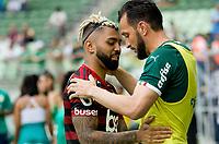 São Paulo (SP), 01/12/2019 - Palmeiras-Flamengo - Partida entre Palmeiras x Flamengo pela 36ª rodada do Campeonato Brasileiro, na Arena Palmeiras, em São Paulo (SP), domingo (01).