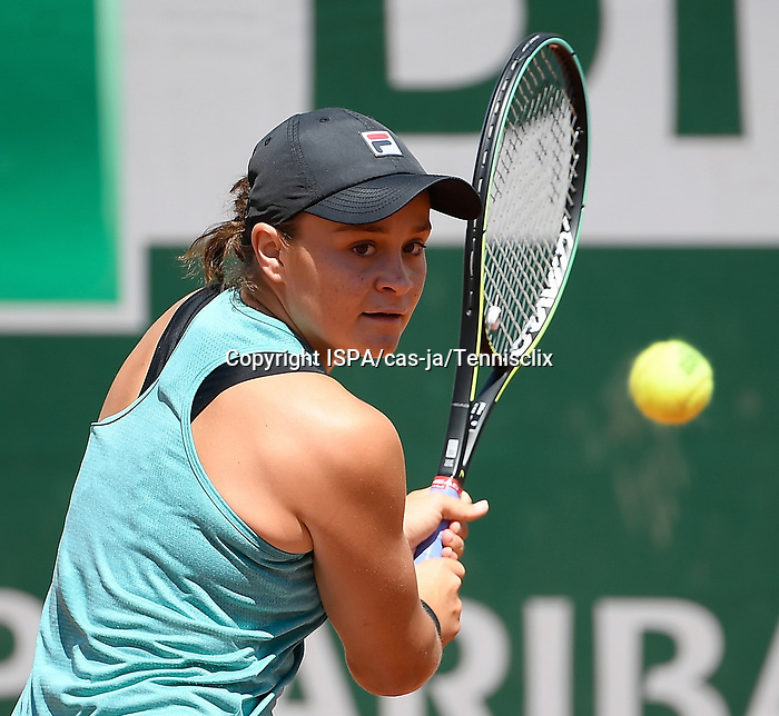 Ashley Barty during a training session before  Roland Garros 2021. Thursday may 27, 2021. Paris. France.