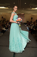 Unveiled bridal fashion show presented by St. Louis Magazine in Ritz-Carlton Hotel in Clayton, Missouri on Jan 31, 2016.