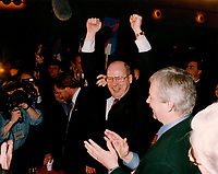 File Photo circa 1996, Montreal  (Quebec) CANADA<br /> Bloc Quebecois new leader Michel Gauthier, who was himself replaced later by Gilles Duceppe