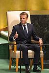 DSG meeting<br /> <br /> AM Plenary General DebateHis<br /> <br /> <br /> His Excellency Emmanuel Macron, President, French Republic