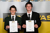 Boys Golf finalists Cameron Jones & Ben Kendall. ASB College Sport Young Sportperson of the Year Awards 2008 held at Eden Park, Auckland, on Thursday November 13th, 2008.
