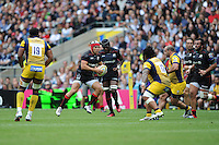 Schalk Brits of Saracens during the Aviva Premiership Rugby match between Saracens and Worcester Warriors at Twickenham Stadium on Saturday 03 September 2016 (Photo by Rob Munro/Stewart Communications)
