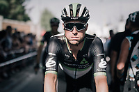 Bernhard 'Bernie' Eisel (AUT/Dimension Data) 'puffing' (form the heat) after the stage<br /> <br /> 104th Tour de France 2017<br /> Stage 6 - Vesoul › Troyes (216km)