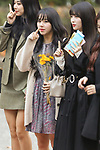 """Chae-Young (TWICE), Nov 16, 2018 : K-pop girl group TWICE attends the rehearsal of the KBS program """"Music Bank"""" in Seoul, South Korea on November 16, 2018. (Photo by Pasya/AFLO)"""