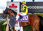 October 13th,2018: #10 Desert Encountre wins the Pattison International Turf Race at Woodbine Race Track in Toronto, Canada. Dan Heary/Eclipsesortswire,CSM