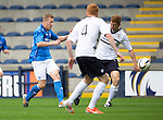 Raith Rovers v St Johnstone...12.07.14  Pre-Season Friendly<br /> Scott Brown gets his shot at goal all wrong<br /> Picture by Graeme Hart.<br /> Copyright Perthshire Picture Agency<br /> Tel: 01738 623350  Mobile: 07990 594431