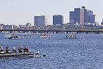 Boston, Charles River, Rowers, Sunday, October 22, 2006 Head of the Charles Regatta, Eights await start of the annual Head Race,