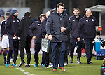 Dundee v St Johnstone….31.12.16     Dens Park    SPFL<br />An unhappy Tommy Wright walks off at full time<br />Picture by Graeme Hart.<br />Copyright Perthshire Picture Agency<br />Tel: 01738 623350  Mobile: 07990 594431
