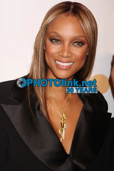 Tyra Banks 3-28-2009 Photo By John Barrett/PHOTOlink