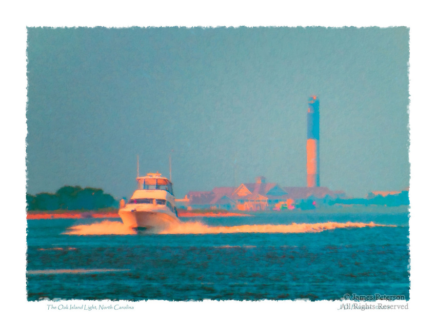 The Oak Island Light, North Carolina
