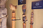 African Dignity Staffs From Burkina Faso, Mali & Ivory Coast, Kura Hulunda Museum