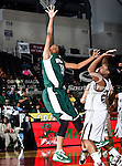 Alabama A&M Bulldogs guard Nesfayia Watkins (14) in action during the SWAC Tournament game between theMississippi Valley State Devilettes and the Alabama A&M Bulldogs at the Special Events Center in Garland, Texas. Mississippi Valley State defeats Alabama A & M 52 to 51