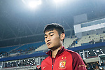 Guangzhou Midfielder Liao Lisheng getting into the field during the AFC Champions League 2017 Group G match Between Suwon Samsung Bluewings (KOR) vs Guangzhou Evergrande FC (CHN) at the Suwon World Cup Stadium on 01 March 2017 in Suwon, South Korea. Photo by Victor Fraile / Power Sport Images