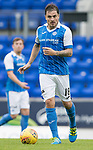 St Johnstone FC season 2017-18<br />Paul Paton<br />Picture by Graeme Hart.<br />Copyright Perthshire Picture Agency<br />Tel: 01738 623350  Mobile: 07990 594431