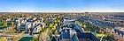 April 14, 2021; Campus aerial panorama (Photo by Matt Cashore/University of Notre Dame)