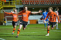 :: DUNDEE UTD'S JON DALY CELEBRATES AFTER HE SCORES UNITED'S LATE WINNER ::