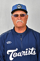 Asheville Tourists development supervisor Randy Ingle during media day at McCormick Field on April 2, 2019 in Asheville, North Carolina. (Tony Farlow/Four Seam Images)