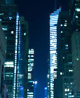 AVAILABLE FROM JEFF FOR COMMERCIAL AND EDITORIAL LICENSING.<br /> <br /> Soft Focus Cityscape, Midtown Manhattan, New York City, New York State, USA