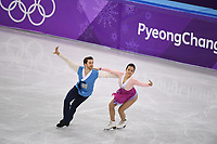 OLYMPIC GAMES: PYEONGCHANG: 20-02-2018, Gangneung Ice Arena, Figure Skating, Ice Dance Free Dance, Min Yura and Alexander Gamelin (KOR), ©photo Martin de Jong
