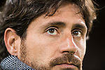 Coach Victor Sanchez del Amo of Real Betis Balompie looks on prior to the La Liga 2016-17 match between Atletico de Madrid vs Real Betis Balompie at the Vicente Calderon Stadium on 14 January 2017 in Madrid, Spain. Photo by Diego Gonzalez Souto / Power Sport Images