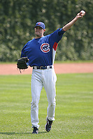 June 18th 2007:  Sean Marshall of the Chicago Cubs during a game at Wrigley Field in Chicago, IL.  Photo by:  Mike Janes/Four Seam Images