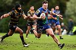 Nicholas Wilson of Howickbeats the tackle of Eko Malu of Northcote.  Fox Memorial Rugby League, Northcote Tigers v Howick Hornets, Birkenhead War Memorial Park Auckland, Saturday 22nd July 2017. Photo: Simon Watts / www.bwmedia.co.nz