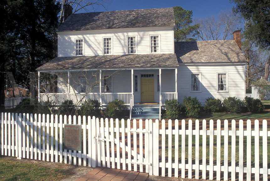 NC, North Carolina, Bath, Bonner House at Historic Bath State Historic Site.
