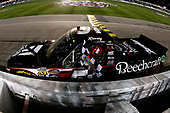 NASCAR Camping World Truck Series<br /> Toyota Tundra 250<br /> Kansas Speedway, Kansas City, KS USA<br /> Friday 12 May 2017<br /> Kyle Busch, Cessna Toyota Tundra celebrates his win<br /> World Copyright: Russell LaBounty<br /> LAT Images<br /> ref: Digital Image 17KAN1rl_4856