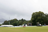 The ground staff clearing up following the rain before Middlesex vs Hampshire Hawks, Royal London One-Day Cup Cricket at Radlett Cricket Club on 30th July 2021