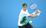 Raonic wins at Australian Open in Melbourne Australia on 17th January 2013