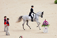 BEL-Virginie Caulier (NEPAL DU SUDRE) 2012 LONDON OLYMPICS (Saturday 28 July 2012) EVENTING DRESSAGE: INTEERIM-10TH (48.30)