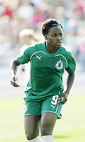 Eniola Aluko...Saint Louis Athletica and LA Sol, played to a 0-0 tie at Robert Hermann Stadium in St Louis, MO. April 25 2009.
