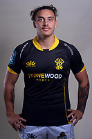 Peter Umaga-Jensen. 2021 Wellington Lions official rugby headshots at Rugby League Park in Wellington, New Zealand on Monday, 26 July 2021. Photo: Dave Lintott / lintottphoto.co.nz